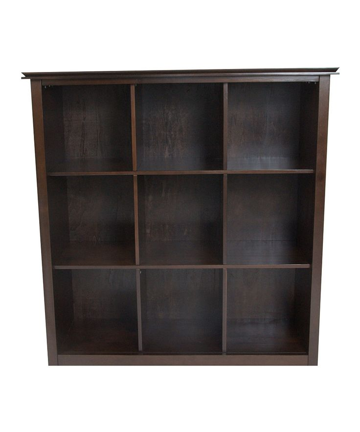 Espresso Artisan Nine Cube Bookcase 16 best Bookshelves