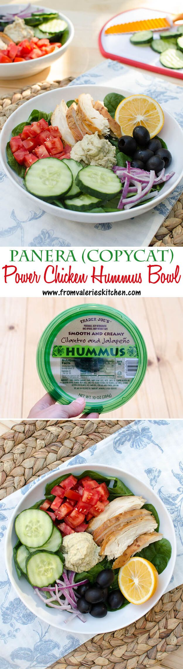 This make-at-home version of the Panera menu item is a nutrition packed, zero guilt meal that truly satisfies! ~ http://www.fromvalerieskitchen.com/ @crispcooking #panera #createwithcrisp #sp