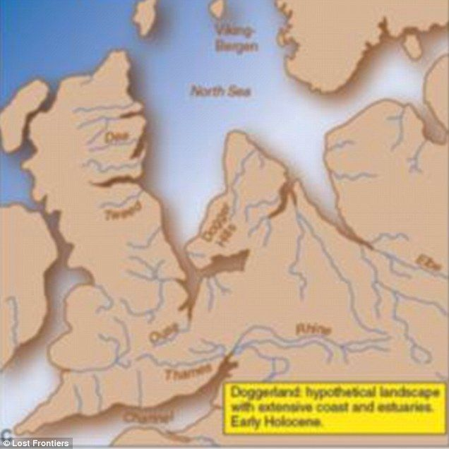 Pre Ice Age World Map.Who Lived On Britain S Atlantis Doggerland Britain Map North Sea