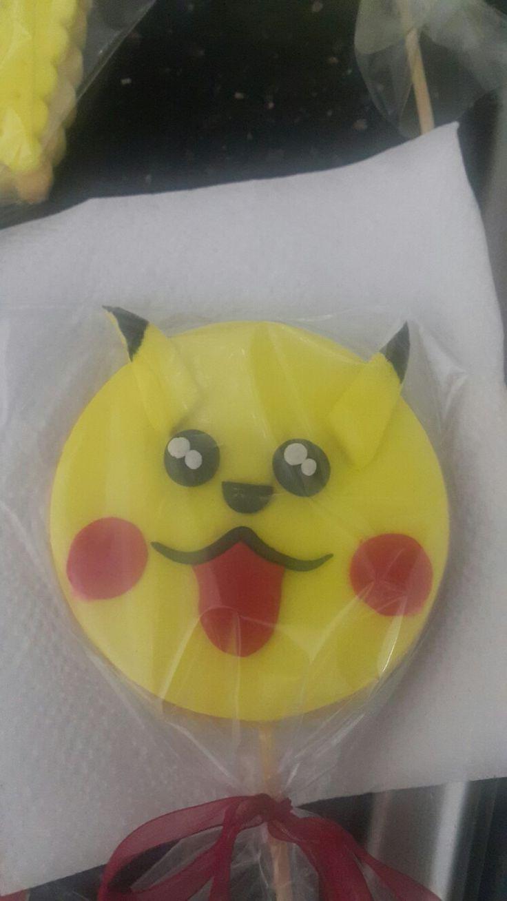 Pikachu kurabiye