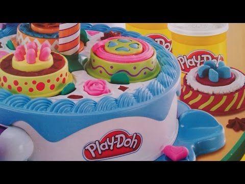 Juegos de hacer Pasteles Play Doh Cake] Play Doh Sweet Shoppe - YouTube