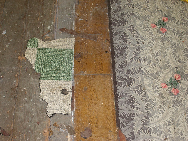 Late 1800s era linoleum flooring by michael42rogers via for Victorian lino flooring