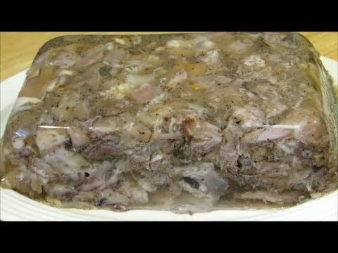 This is an easy recipe!! Came out great! A must try... down south staple!▶ How To Make A Souse Loaf - YouTube