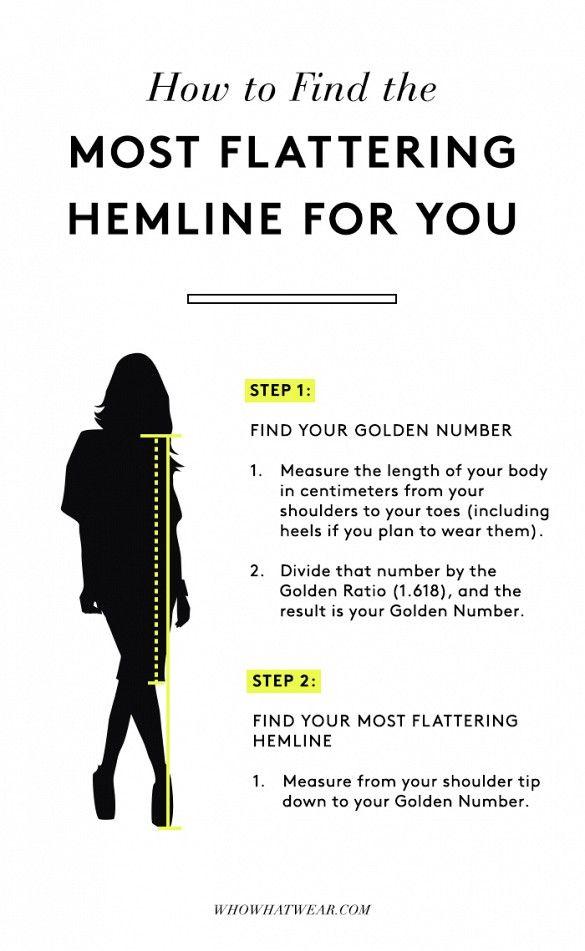 hemline golden ratio