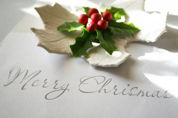 Weihnachts magnet, Weihnachten geschenke, Holly von DecorUA auf DaWanda.com
