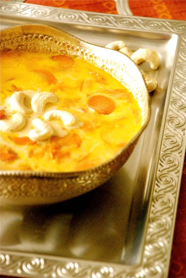 Carrot Pudding or Gajorer Payesh