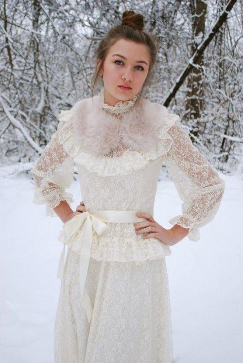 Свадебные платья в винтажном стиле - Свадебное Вдохновение