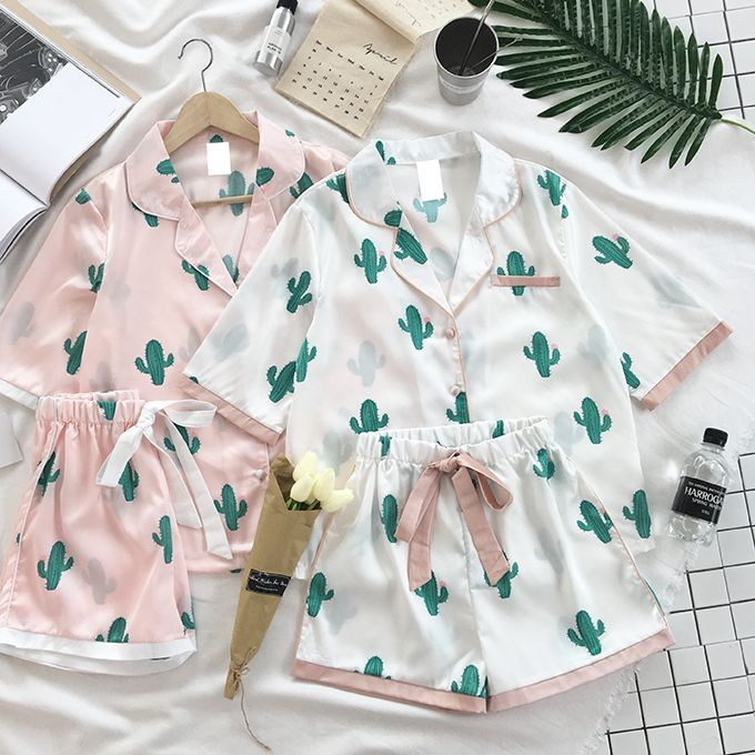 Harajuku fashion cactus small lapel half sleeve pajamas + shorts two pieces sold by Harajuku fashion. Shop more products from Harajuku fashion on Storenvy, the home of independent small businesses all over the world.