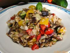 insalata farro verdure estive