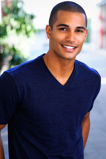 This dude is named Nathan Owens and his smile is gorgeous.