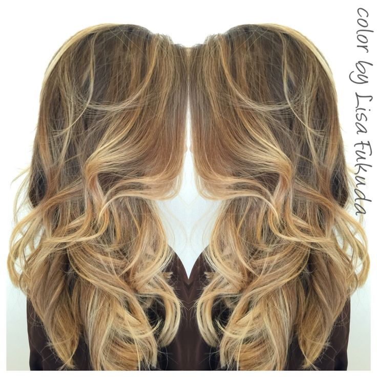 Balayage soft ombre blonde highlights on asianhair for 77 maiden lane salon