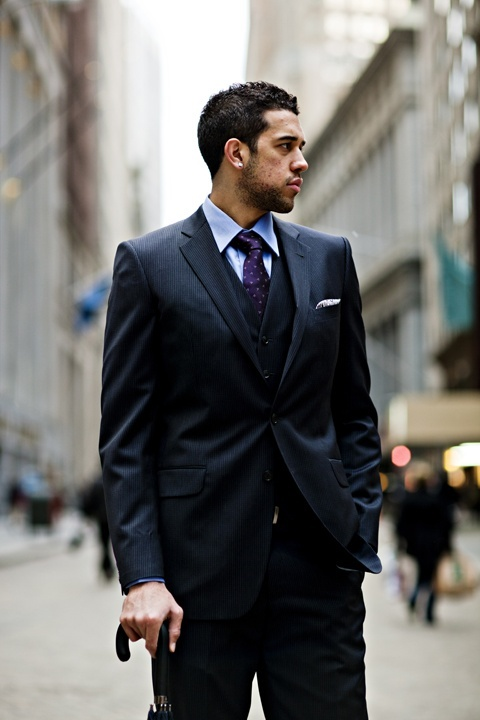 Wall Street, NYC || subject :: Landry Fields || by :: Dime Magazine