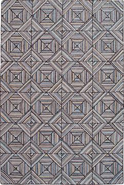 Via Bklyn Contessa Shaker Works Double Diamond Hooked Rugs