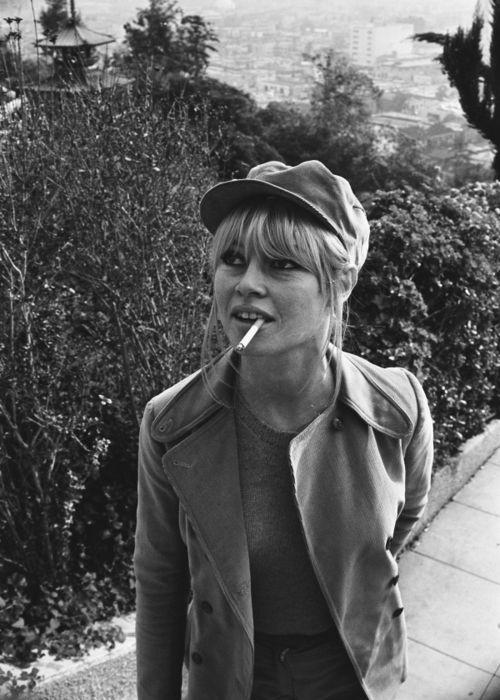Brigitte Bardot in Los Angeles, 1965