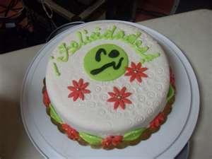 Photo Of A Zumba Birthday Cake