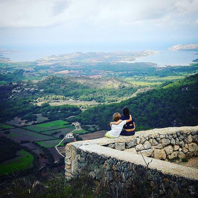 "Panoramablick vom El Toro, Menorcas höchstem ""Berg"""
