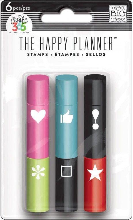 Happy Planner - razítka