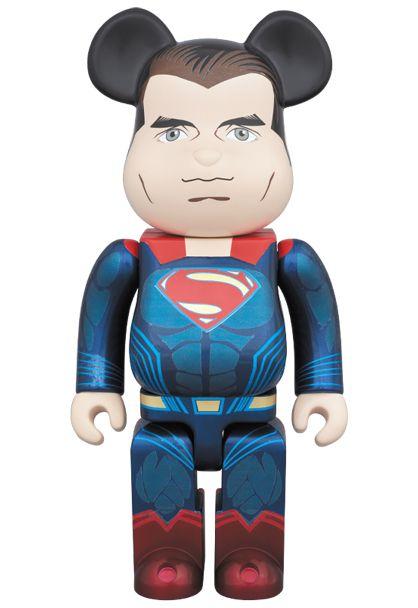 Bearbrick 400% Superman