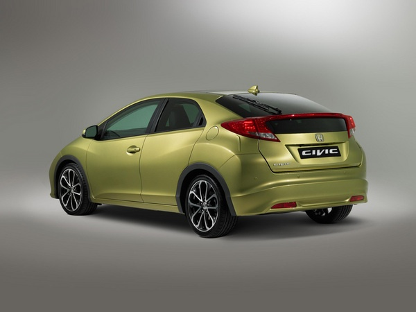 Honda Civic 2012. Europeans know what's up