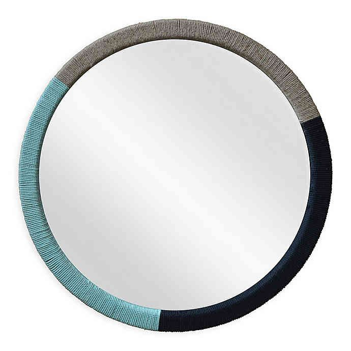 Marmalade Jute Round Wall Mirror Bed Bath Beyond Townhouse