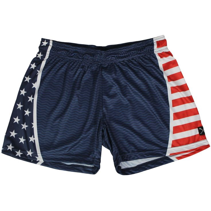 Anchor Lacrosse Shorts Lacrosse Unlimited Exclusive Design Gray Short with Yellow Anchors on Side  Improved athletic lacrosse-cut look and feel Drawstring on waist for custom fit Sizes: Adult, Youth