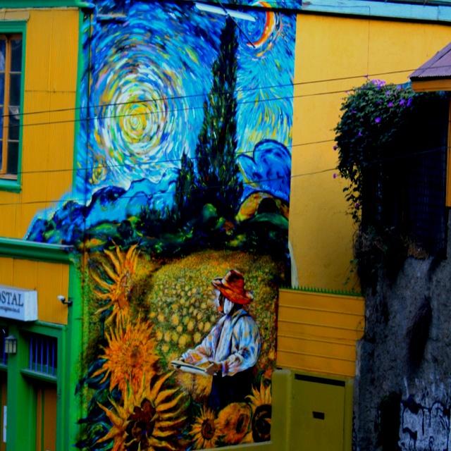 "Valparaiso, Chile ""graffiti"""