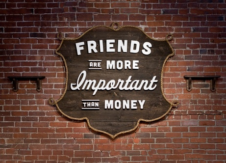 friendship is more important than money essay Americans consider happiness more important to them than money, moral goodness, and even going to heaven  why is happiness so important.