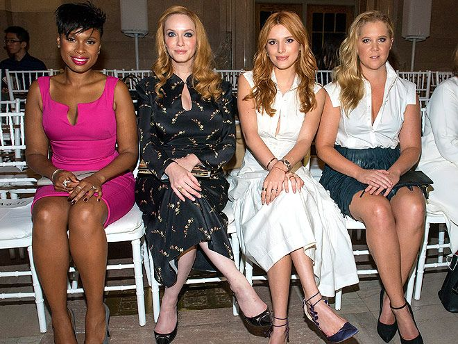Fashion Week 2015: Every A-List-Packed (and Oh-So-Stylish) Front Row, Party and Presentation | ZAC POSEN FRONT ROW | Is it too early to start petitioning for a Ghostbusters 2 with an all-female cast that includes this lineup? We'd definitely pay to see Jennifer Hudson, Christina Hendricks, Bella Thorne and Amy Schumer fight crime.