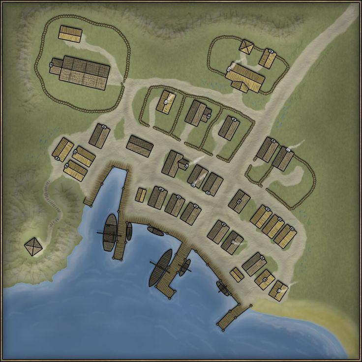 View Photo | Fantasy Stadt/Haus Karte | Landkarte, Karten ...