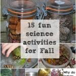15 Science Experiments for Autumn and Fall