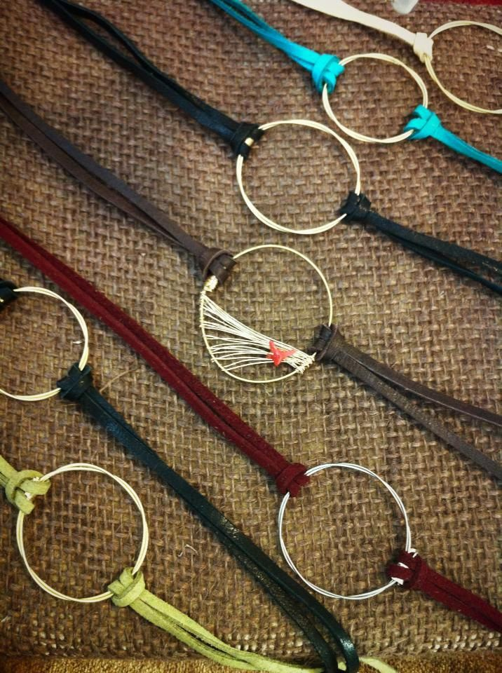 Eternity Bracelet made with Recycled Guitar strings
