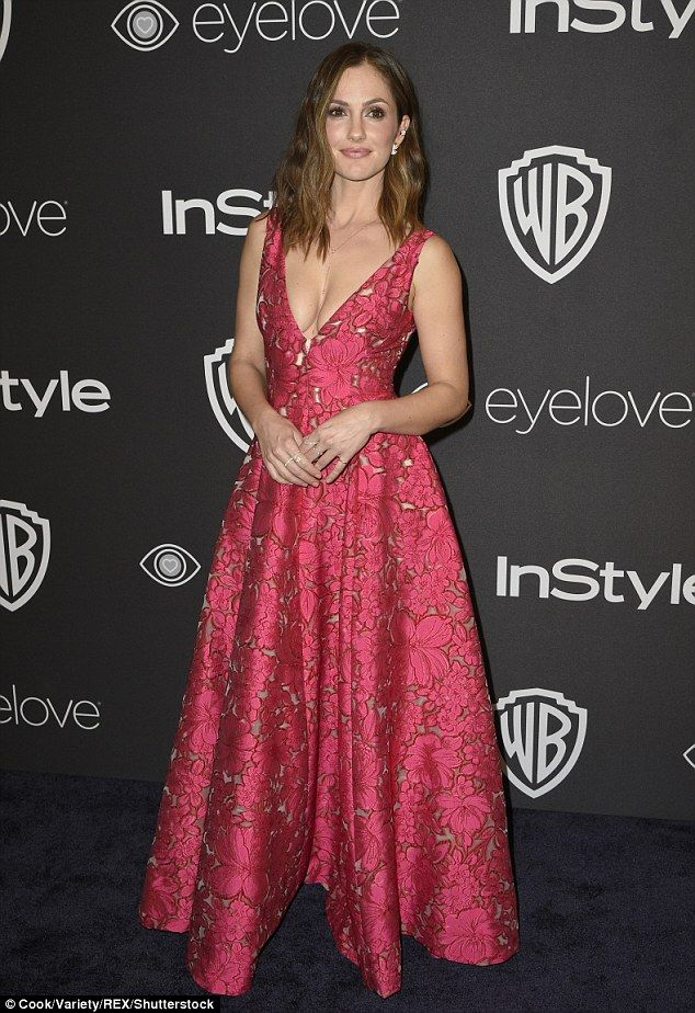 Minka Kelly, 18th Annual Warner Bros and InStyle Golden Globes After-party at The Beverly Hilton Hotel, January 2017.