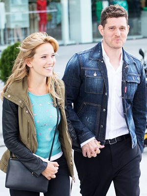 Michael Bublé Reveals Wife Luisana Lopilato Is Expecting aBoy! http://celebritybabies.people.com/2015/10/21/michael-buble-wife-pregnant-second-boy/