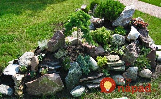 Vybrali sme pre vás 35 najkrajších nápadov na záhradné skalky, z ktorých si určite vyberiete tú najkrajšiu do vašej záhrady!