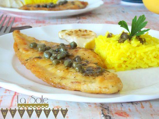 La Sole Meunière : Cuisine facile