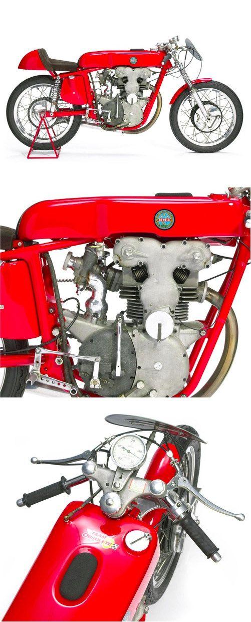 1958 Benelli 248cc Grand Prix Racing Motorcycle