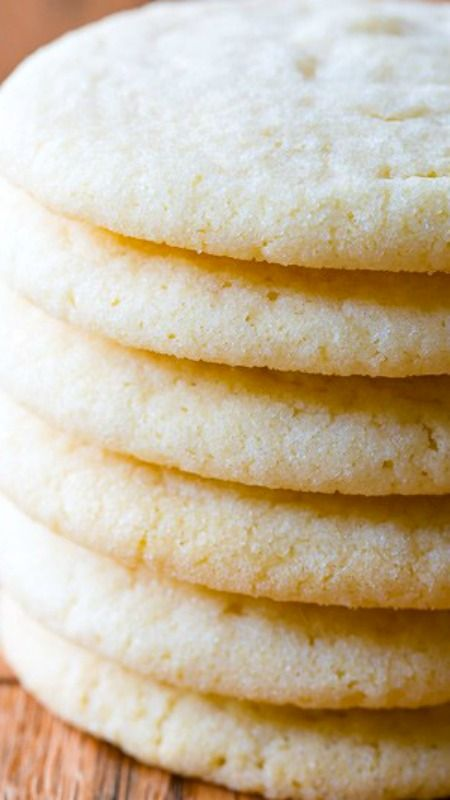 The BEST Sugar Cookie Recipe Ever ~ These little guys are light, pillowy, and packed with flavor.