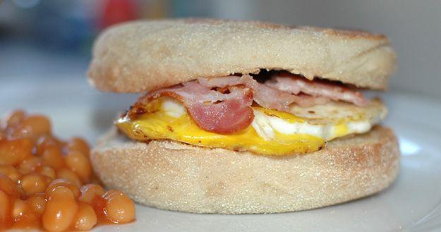 Egg muffin, le petit déjeuner anglophone! Feuille de choux