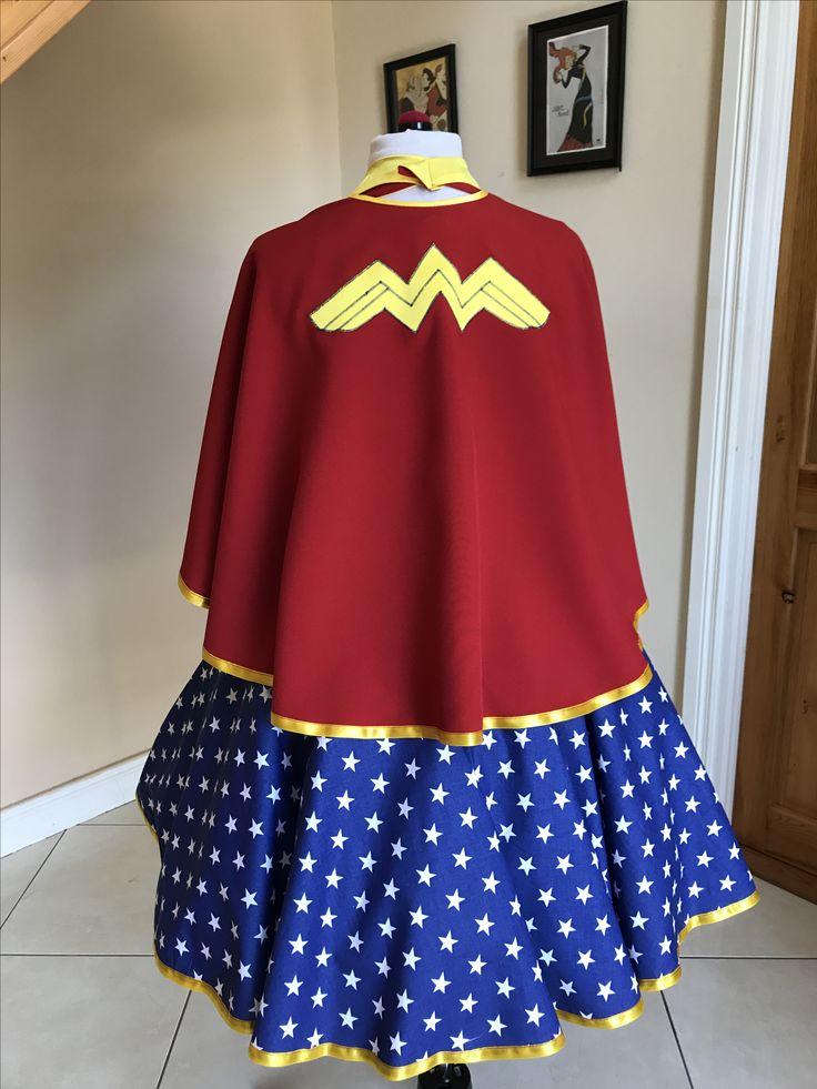 Wonder Woman dress & cape BeBaGo collection https://www.etsy.com/ie/shop/BeBaGo?ref=seller-platform-mcnav