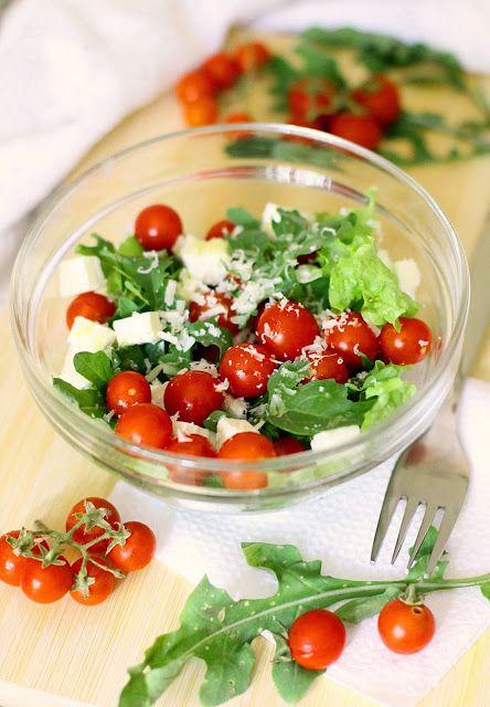 Кулинарное вдохновение: Салат с помидорами черри