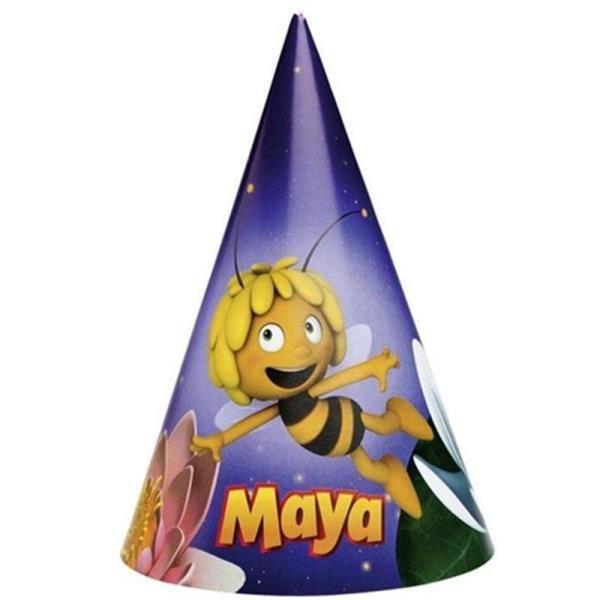 Arı Maya Partisi Külah Şapka 6 Adet