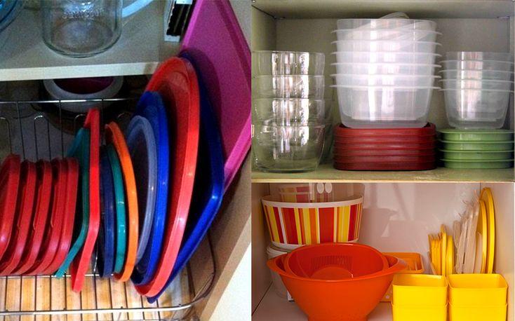 Como Organizar Pote Plástico http://makemebetter.com.br/como-organizar-a-cozinha/