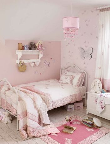 Beautiful Little Girlu0027s Bedroom