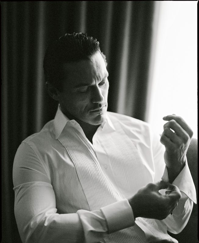 Luke Evans by Alistair Guy