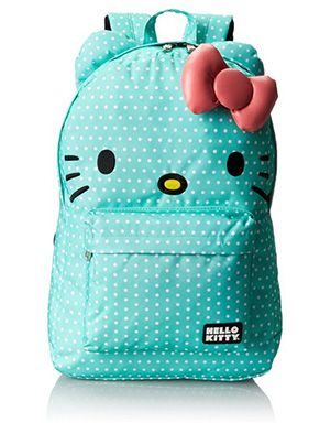 Mint Green Hello Kitty Backpack