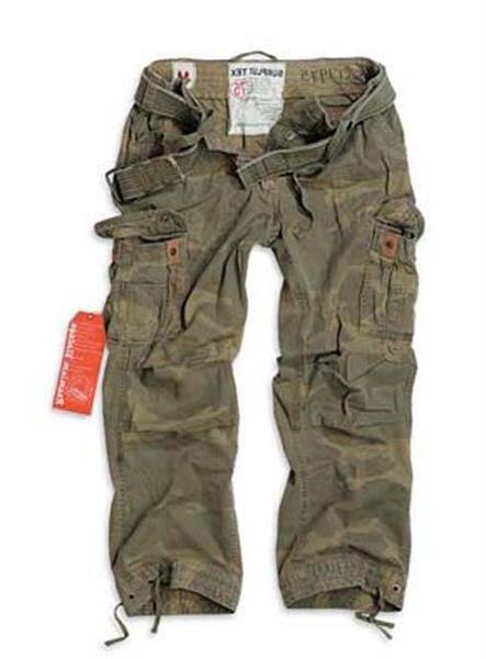 Детские штаны в стиле милитари