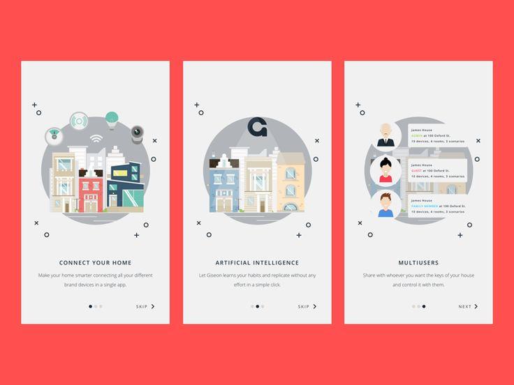 App Intro white version