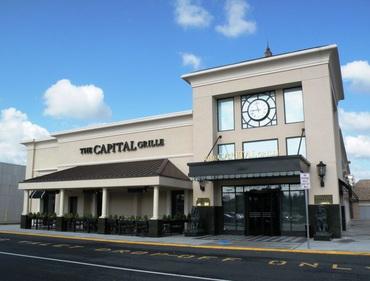 The Capital Grille At The Garden State Plaza Mall In Paramus New Jersey Metal Roof Metal Roofing Systems Metal Roofing Materials