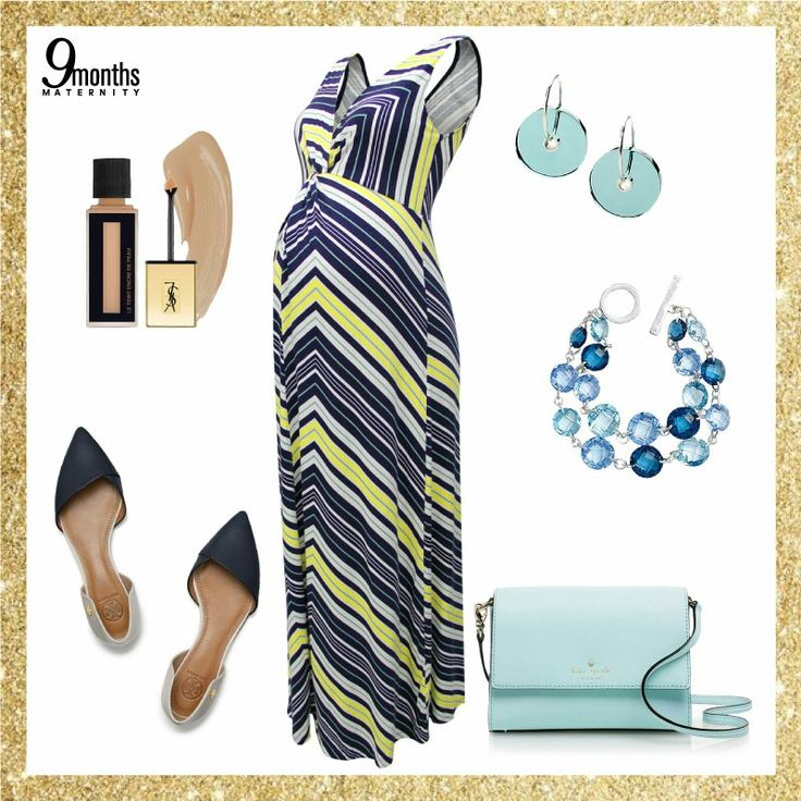 Stripes are total yes to your maternity wardrobe. Dress yourself with light pastel hues to accommodate your dreamy white Christmas.⛄ Baby blue or aquamarine might be a good trick!❄ www.9monthsmaternity.com  Add to basket: Yellow Front Twist Nursing Dress → $52.01     #9months #9monthsmaternity #maternityfashion #maternitydress #dress #maxidress #wednesday #ootd #maternityclothing #maternityclothes #maternitywear
