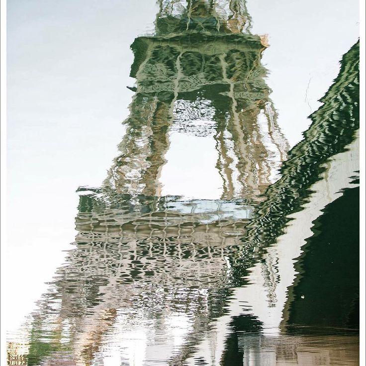 Le Tour reflection, Paris.